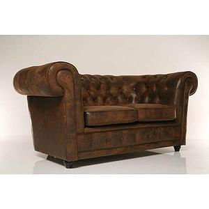 Canapé 2 places OXFORD Kare Design vintage eco