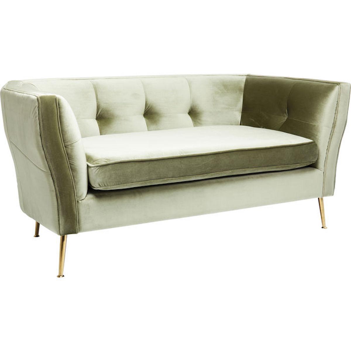 Canapé 2 places RIMINI Kare Design vert