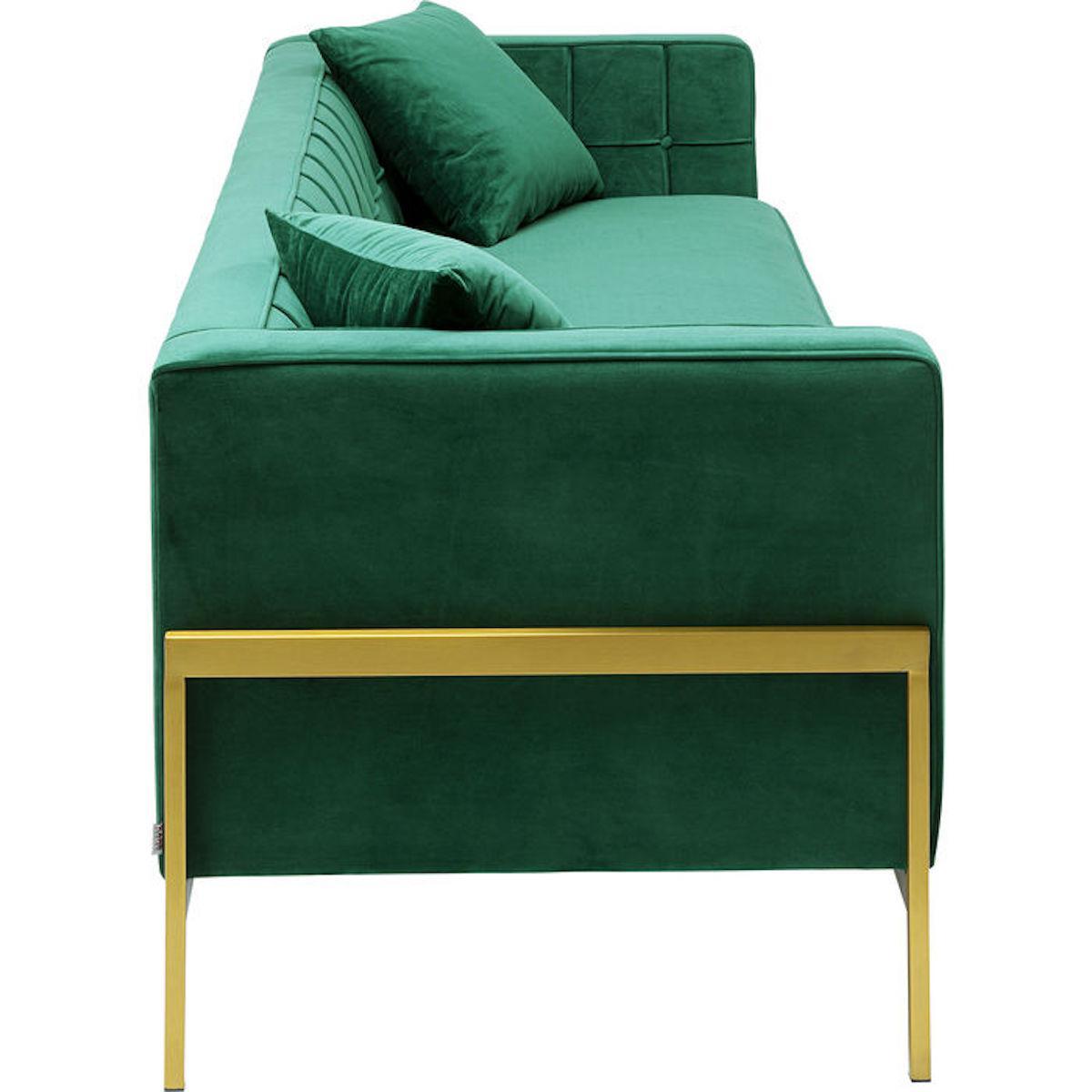 Canapé 3 places LOFT Kare Design vert