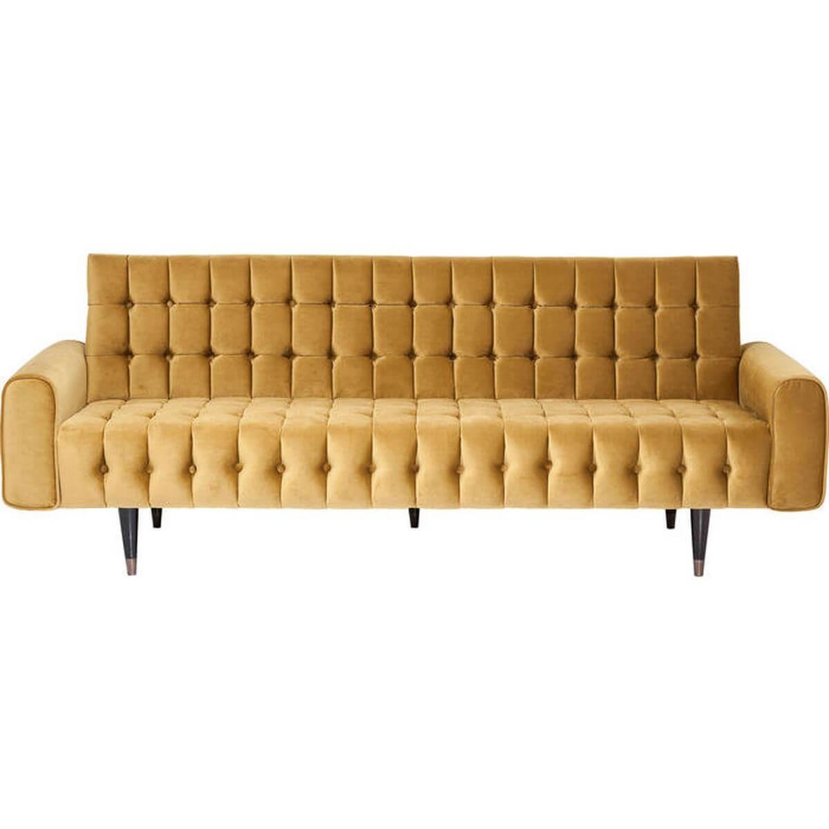 Canapé Milchbar Kare Design miel 3 places