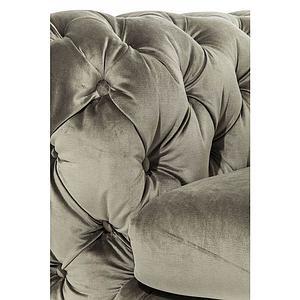 Canapé 3 places MY DESIRE Kare Design velvet kaki