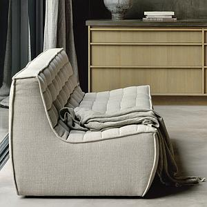 Canapé 3 places N701 Ethnicraft beige