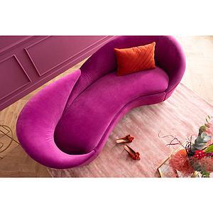 Canapé 3 places NIGHT FEVER Kare Design purple