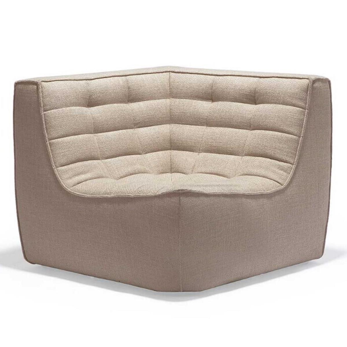 Canapé coin N701 Ethnicraft beige