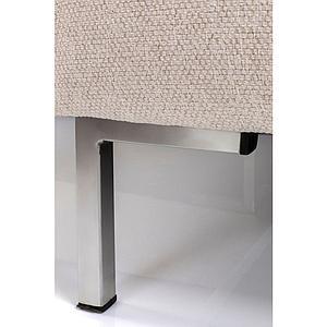 Canapé d'angle droite GIANNI Kare Design crème