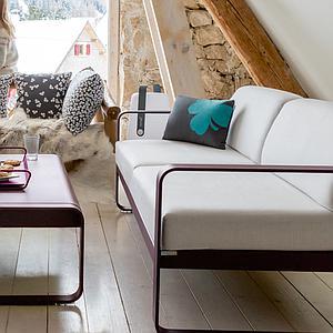 Canapé de jardin BELLEVIE Fermob BLEU LAGUNE