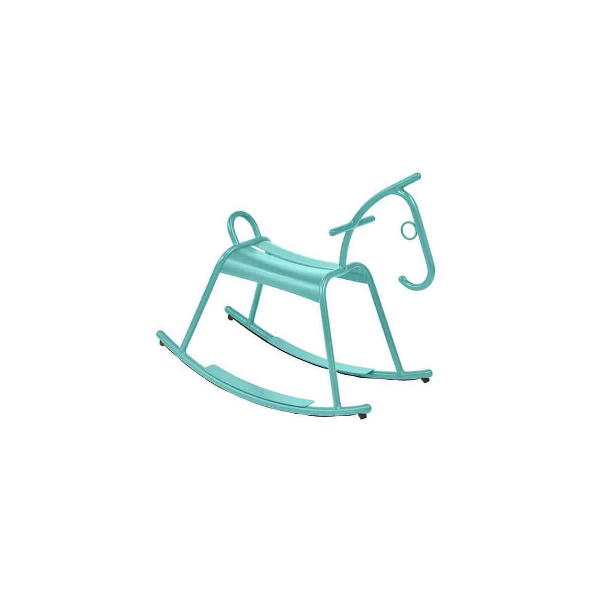 Chaise à bascule ADADA Fermob pour enfants lagune