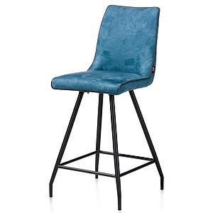 Chaise de bar MAXIM Henders & Hazel  bleu pétrole