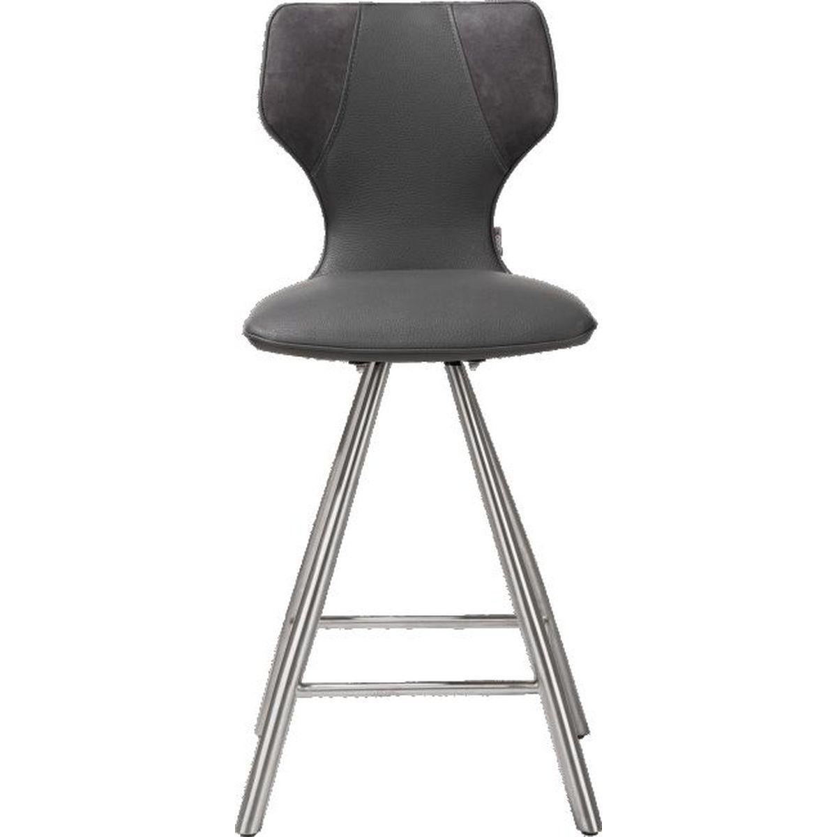 Chaise de bar SCOUT Xooon anthracite