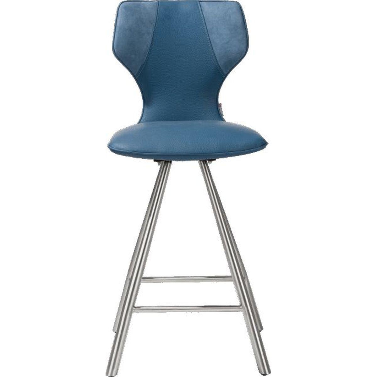 Chaise De Bar Bleu : chaise de bar scout xooon bleu abitare living ~ Teatrodelosmanantiales.com Idées de Décoration
