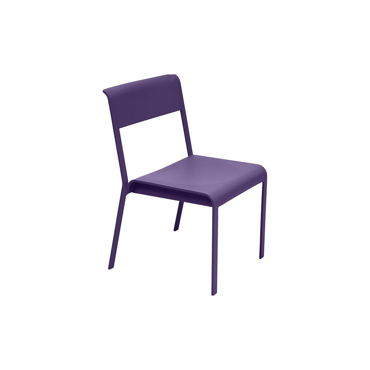 Chaise de jardin BELLEVIE Fermob aubergine | Abitare Living