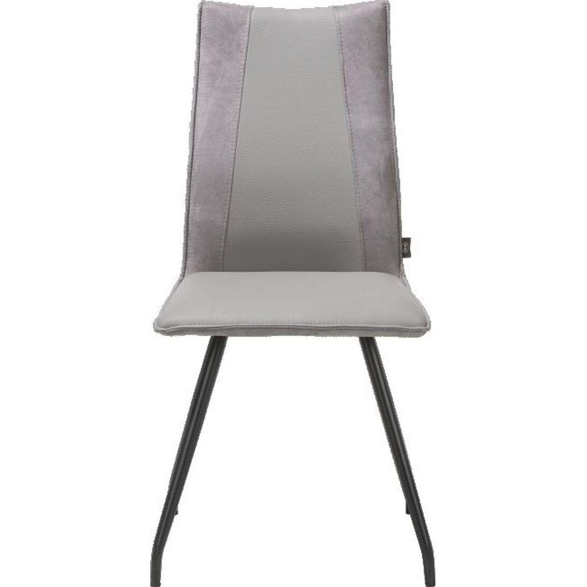 Chaise GABINO H&H charcoal