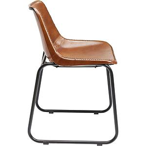 Chaise LEATHER Kare Design vintage cuir