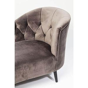 Chaise longue JULIETTA Kare Design gris