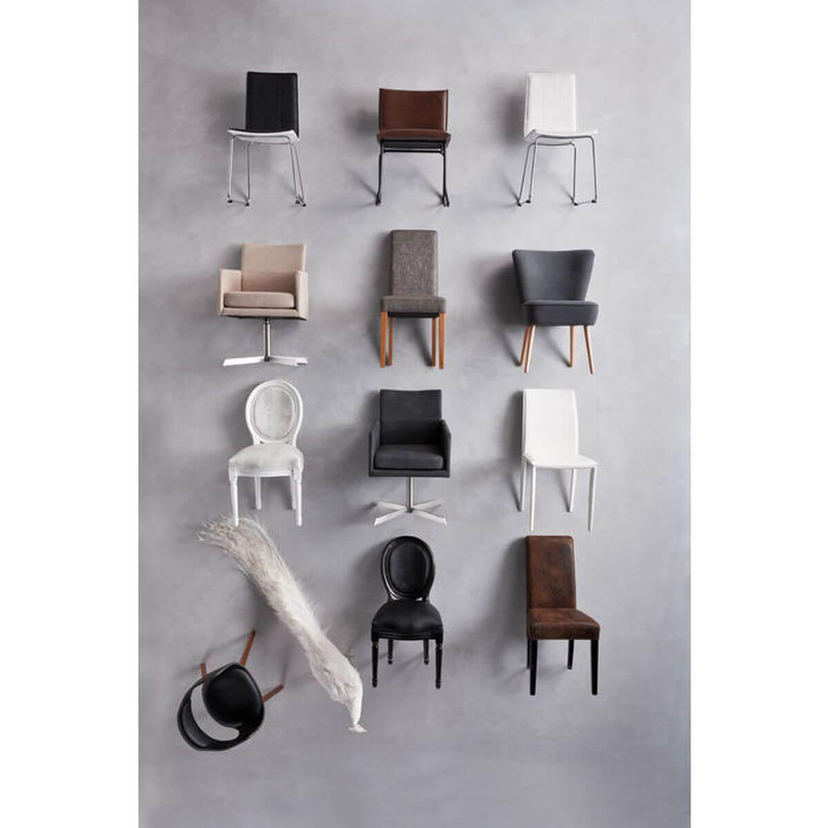 Chaise LOUIS Kare Design metropolis