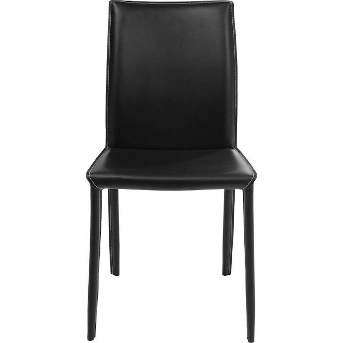Chaise MILANO Kare Design noir