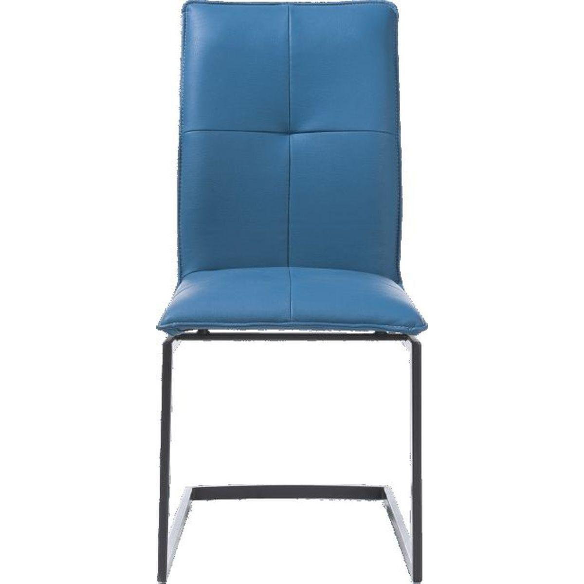Chaise MITCH Xooon bleu