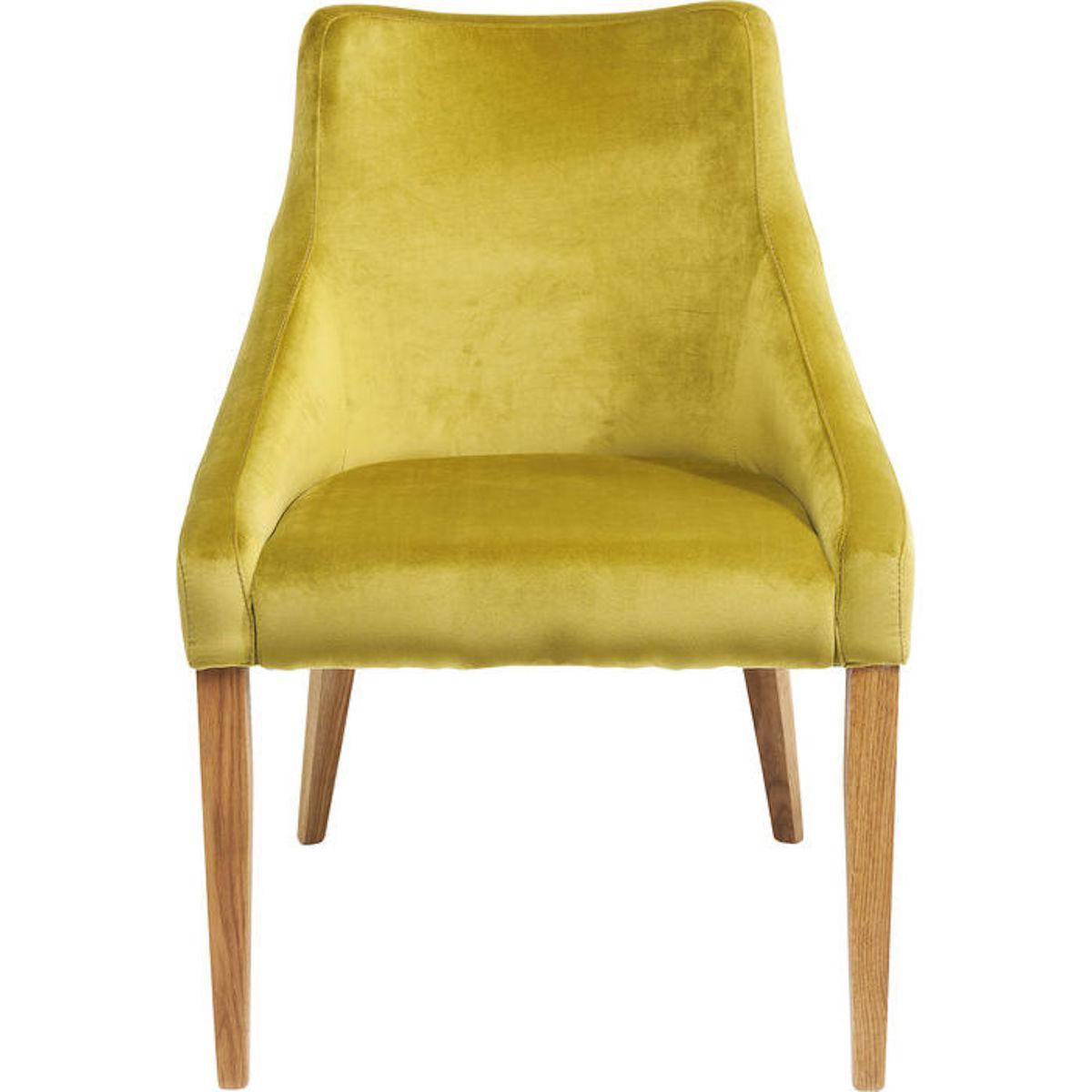 Chaise MODE Kare Design velvet vert