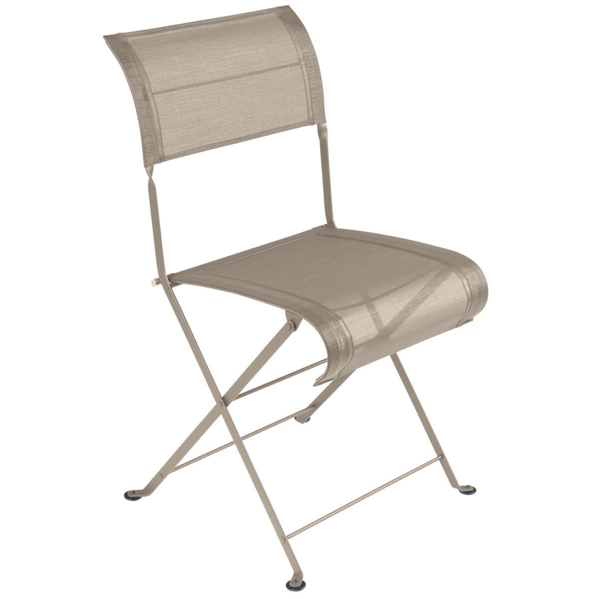 Chaise pliante DUNE PREMIUM Fermob muscade