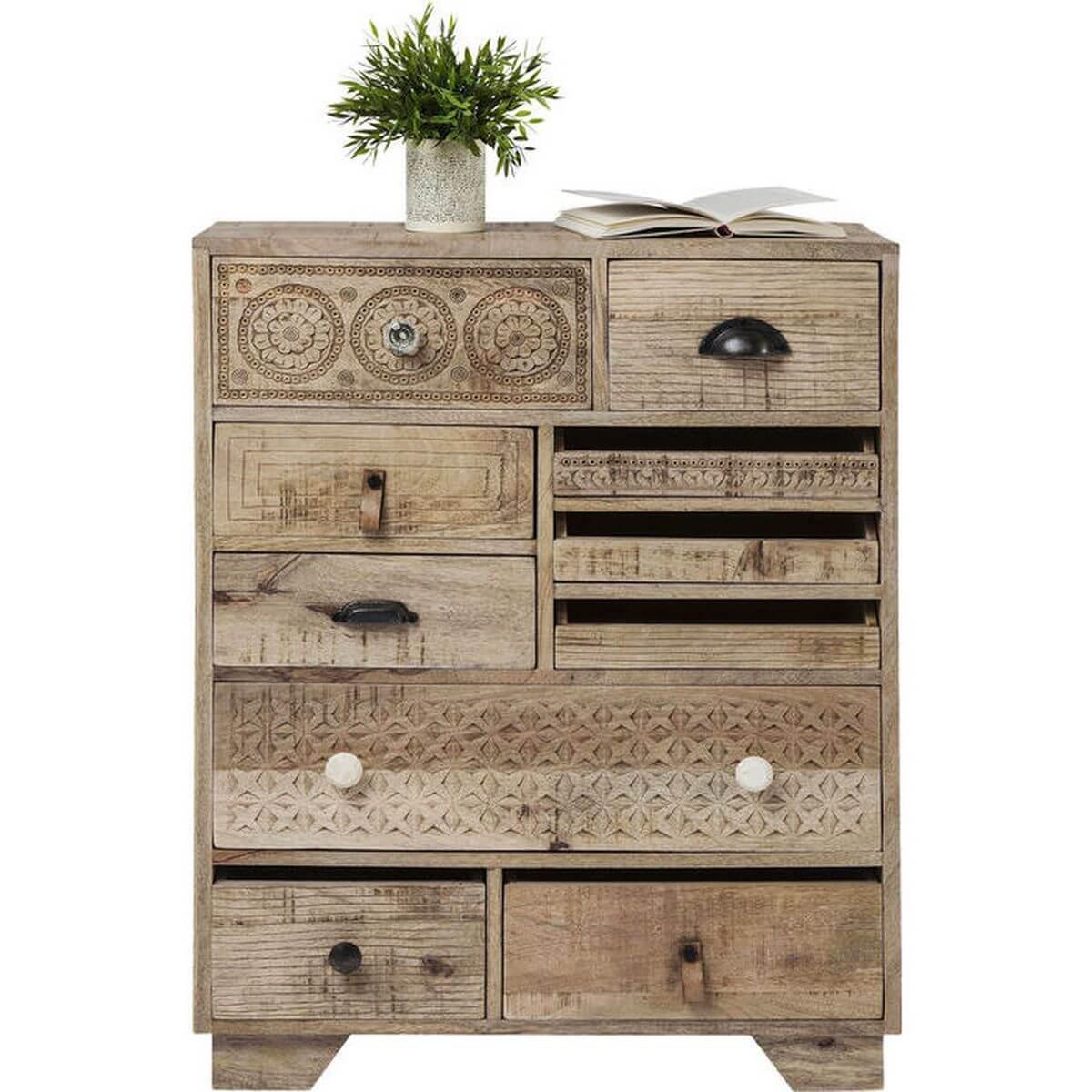 Commode Puro Kare Design 10 tiroirs