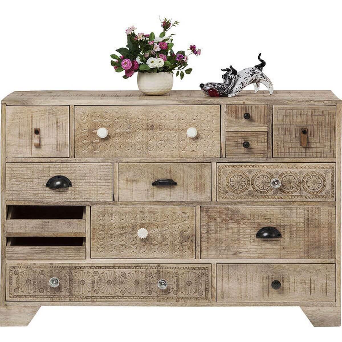 Commode Puro Kare Design 14 tiroirs