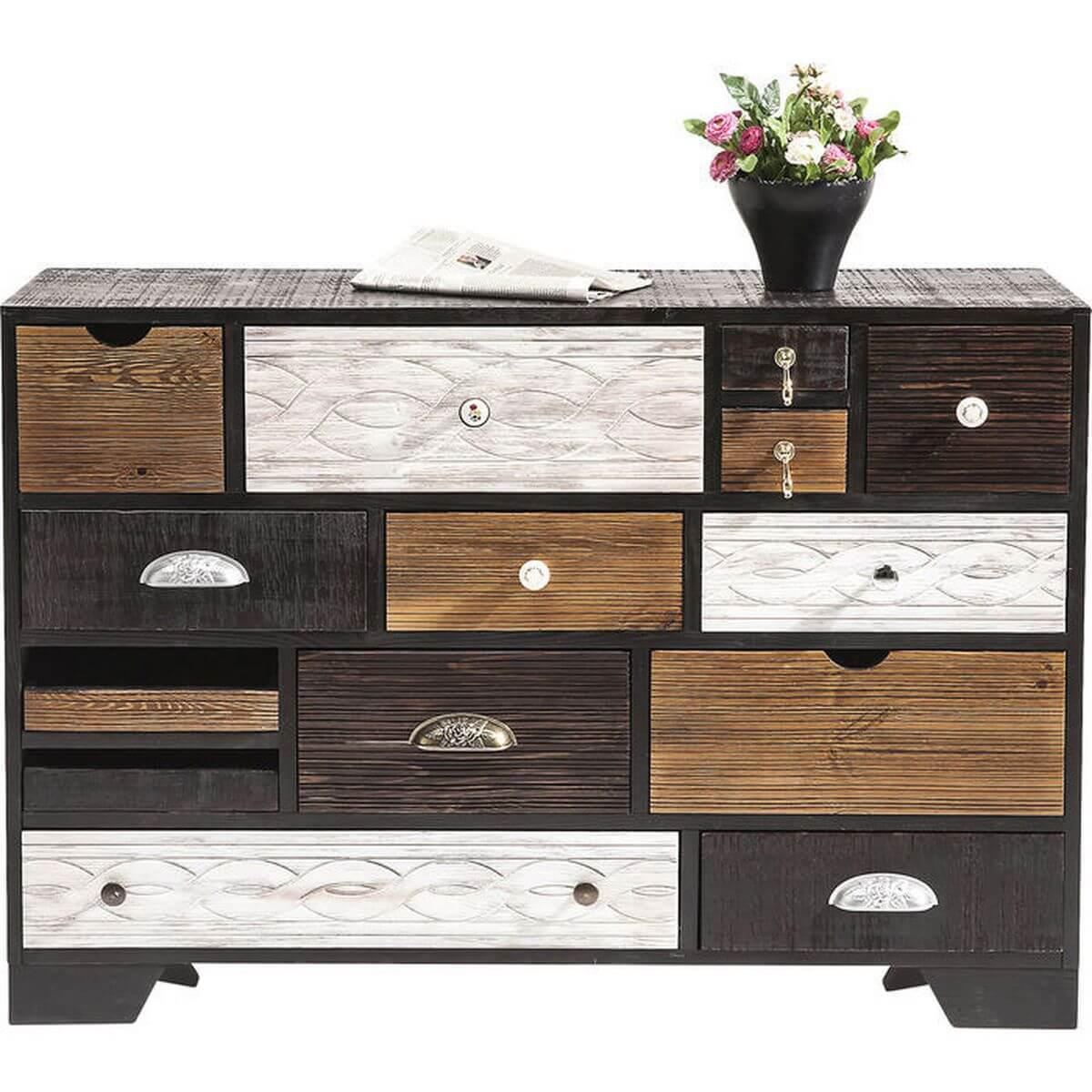 COMMODE FINCA EU 14 TIROIRS KARE DESIGN