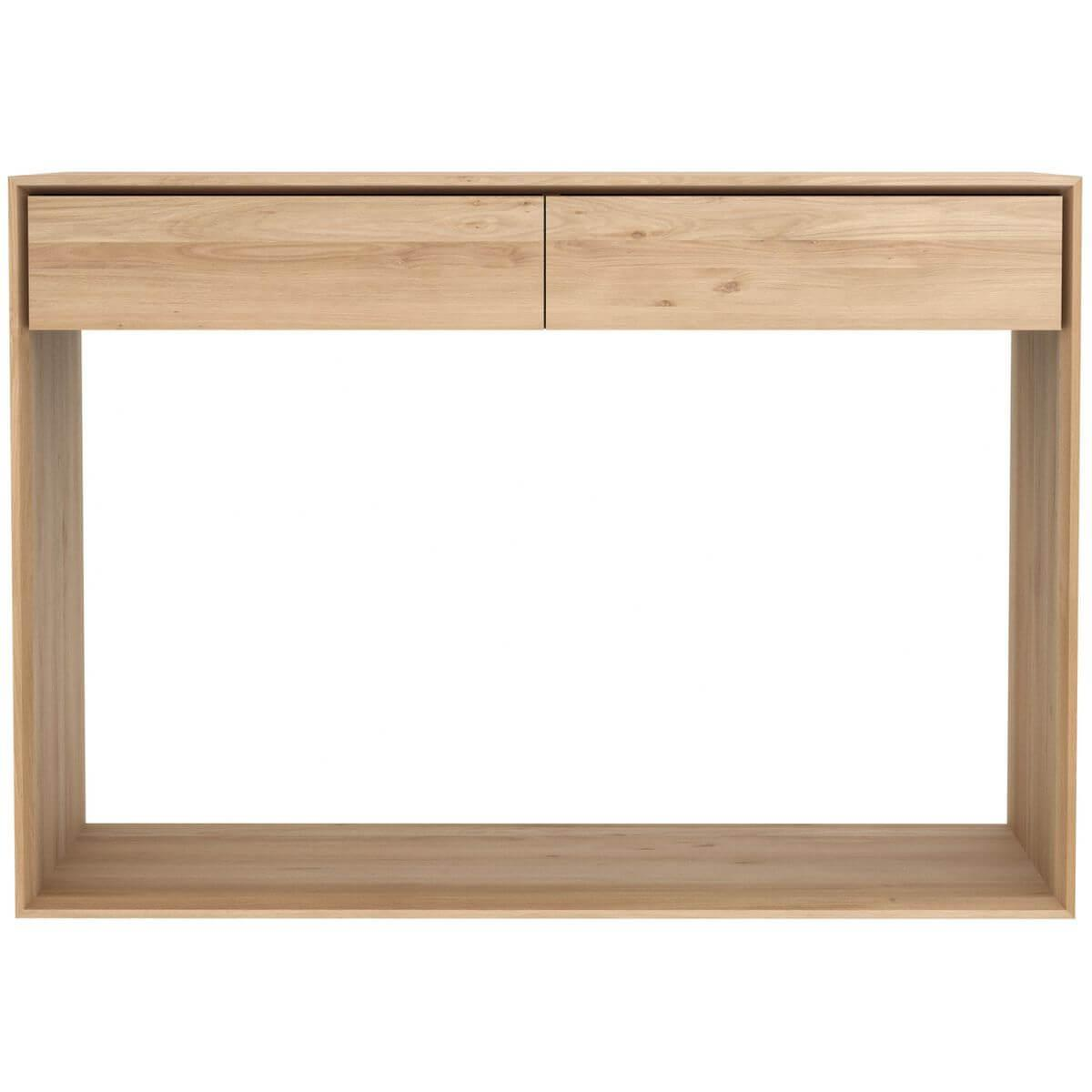 Console 120cm NORDIC Ethnicraft chêne