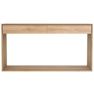 Console 160cm NORDIC Ethnicraft chêne