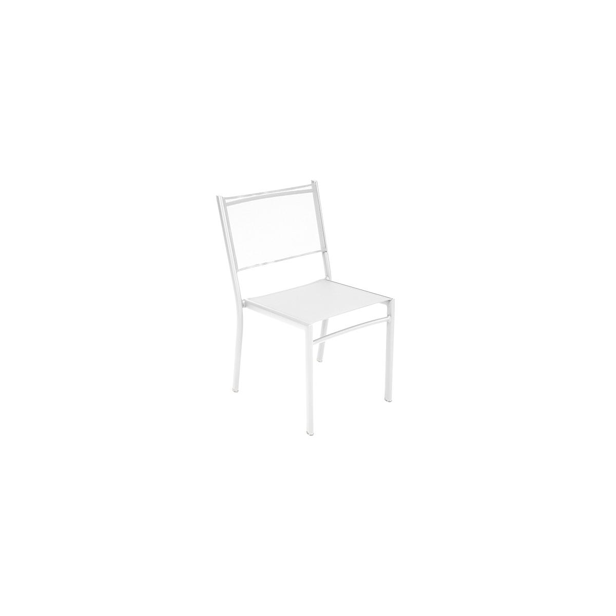 COSTA by Fermob Chaise Blanc coton