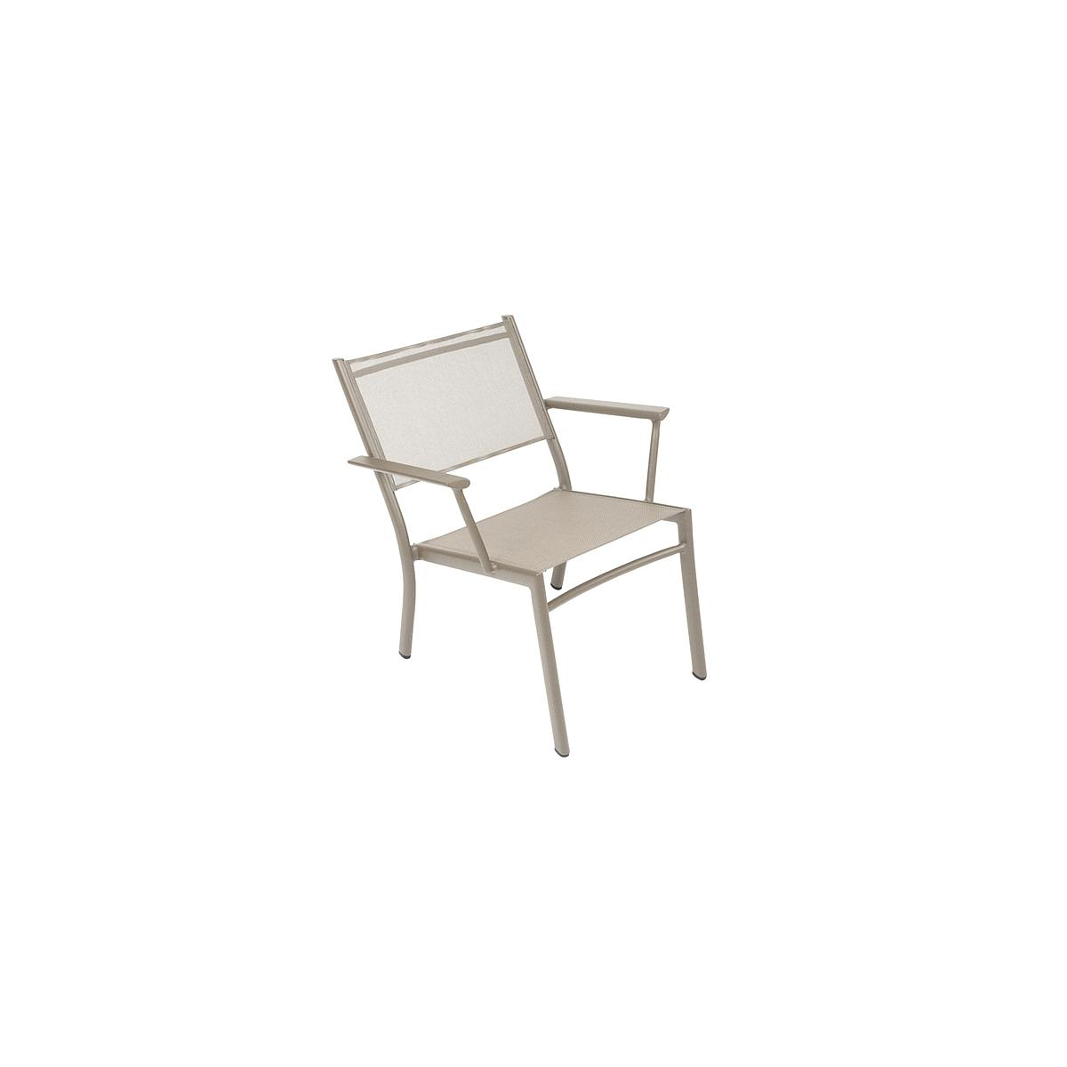 COSTA by Fermob Fauteuil bas muscade
