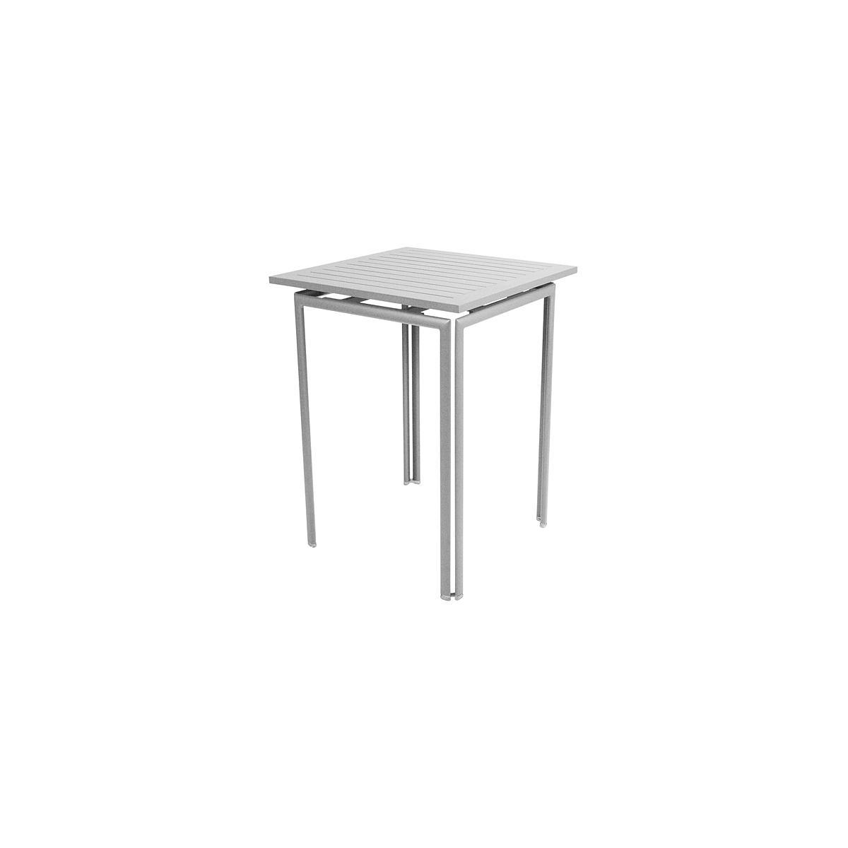 COSTA by Fermob Guéridon haut gris métal