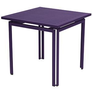 COSTA by Fermob Table 80x80 cm aubergine