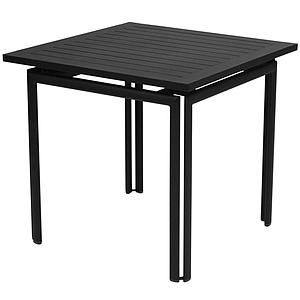 COSTA by Fermob Table 80x80 cm Carbone