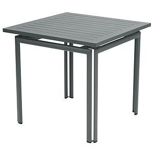 COSTA by Fermob Table 80x80 cm gris orage