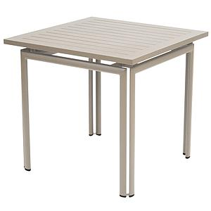 COSTA by Fermob Table 80x80 cm muscade
