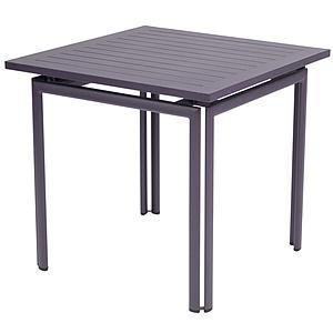 COSTA by Fermob Table 80x80 cm prune