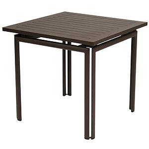 COSTA by Fermob Table 80x80 cm rouille