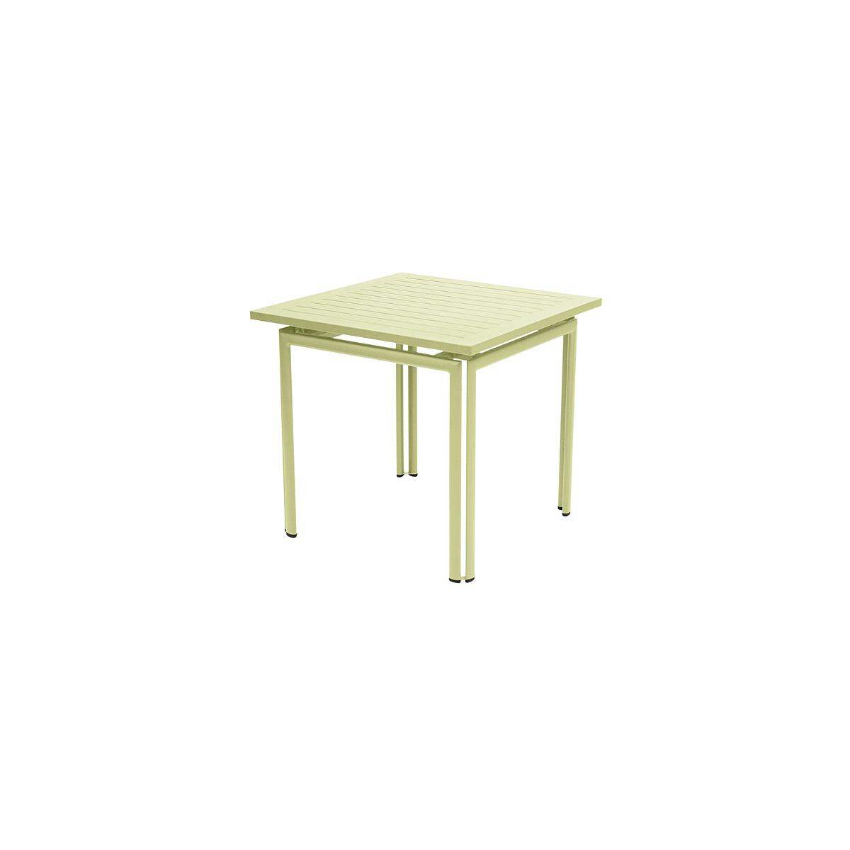 COSTA by Fermob Table 80x80 cm tilleul