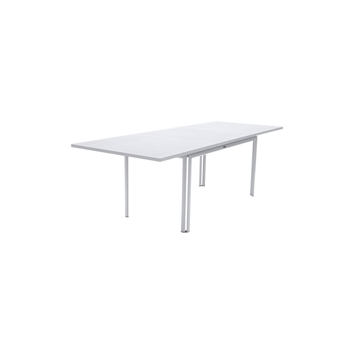 COSTA by Fermob table à allonge blanc coton