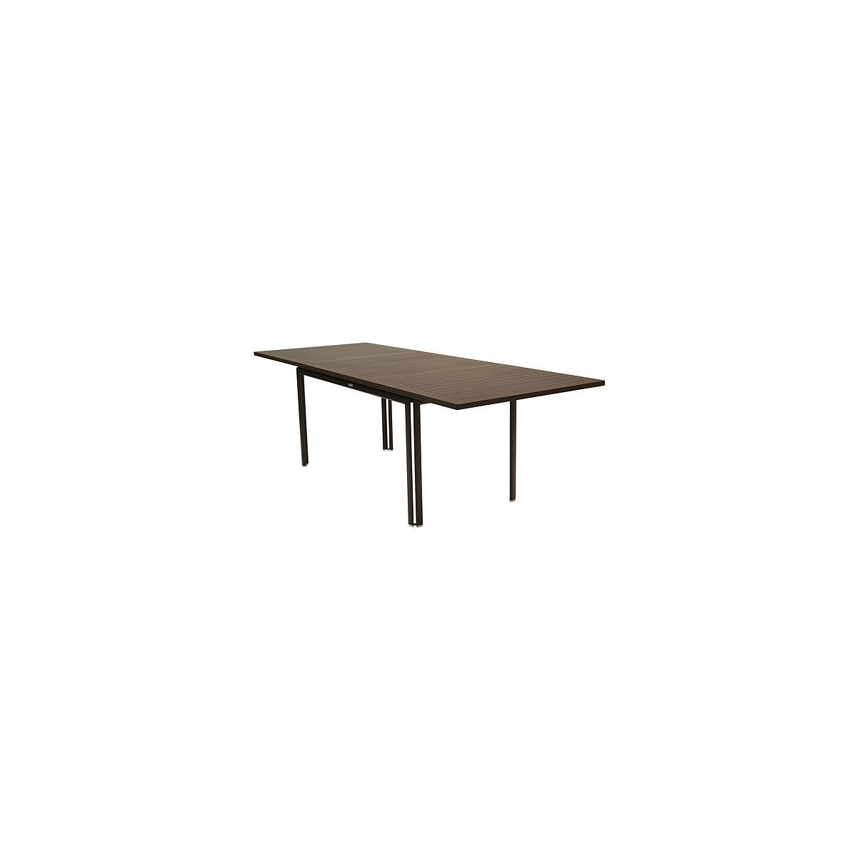 COSTA by Fermob table à allonge rouille