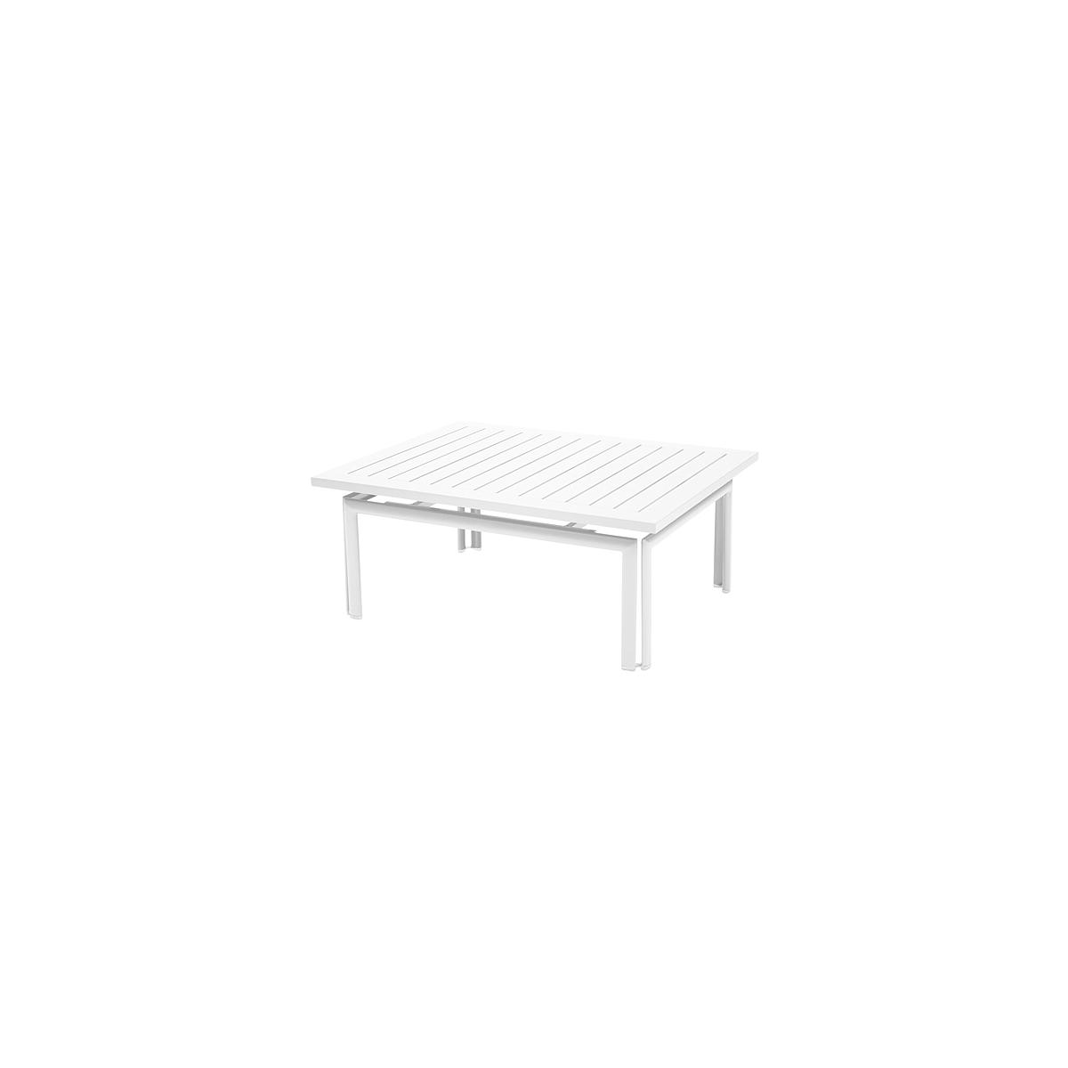 COSTA by Fermob Table basse Blanc coton