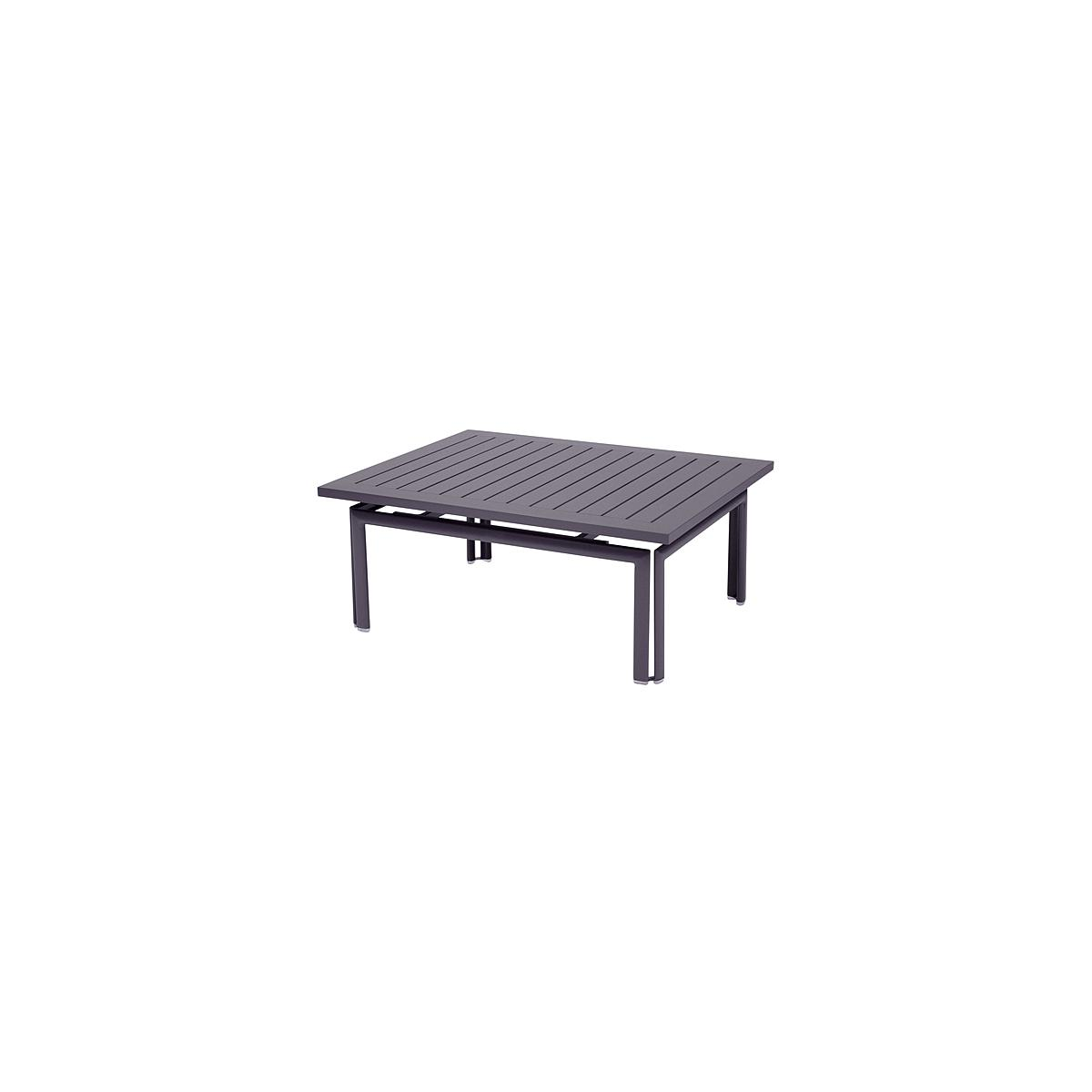 COSTA by Fermob Table basse Mauve prune