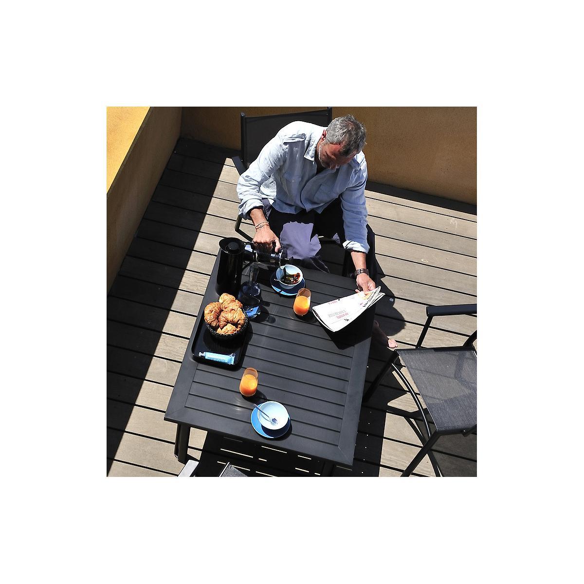 COSTA by Fermob Table basse Noir réglisse