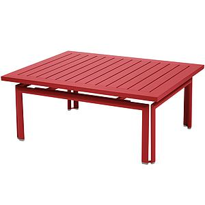 COSTA by Fermob Table basse Rouge coquelicot