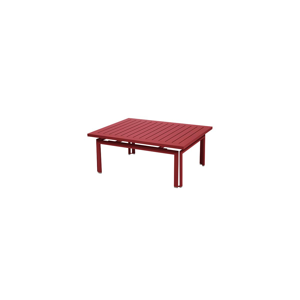 COSTA by Fermob Table basse Rouge piment