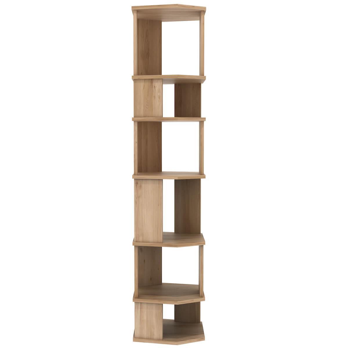Étagère colonne STAIRS Ethnicraft chêne