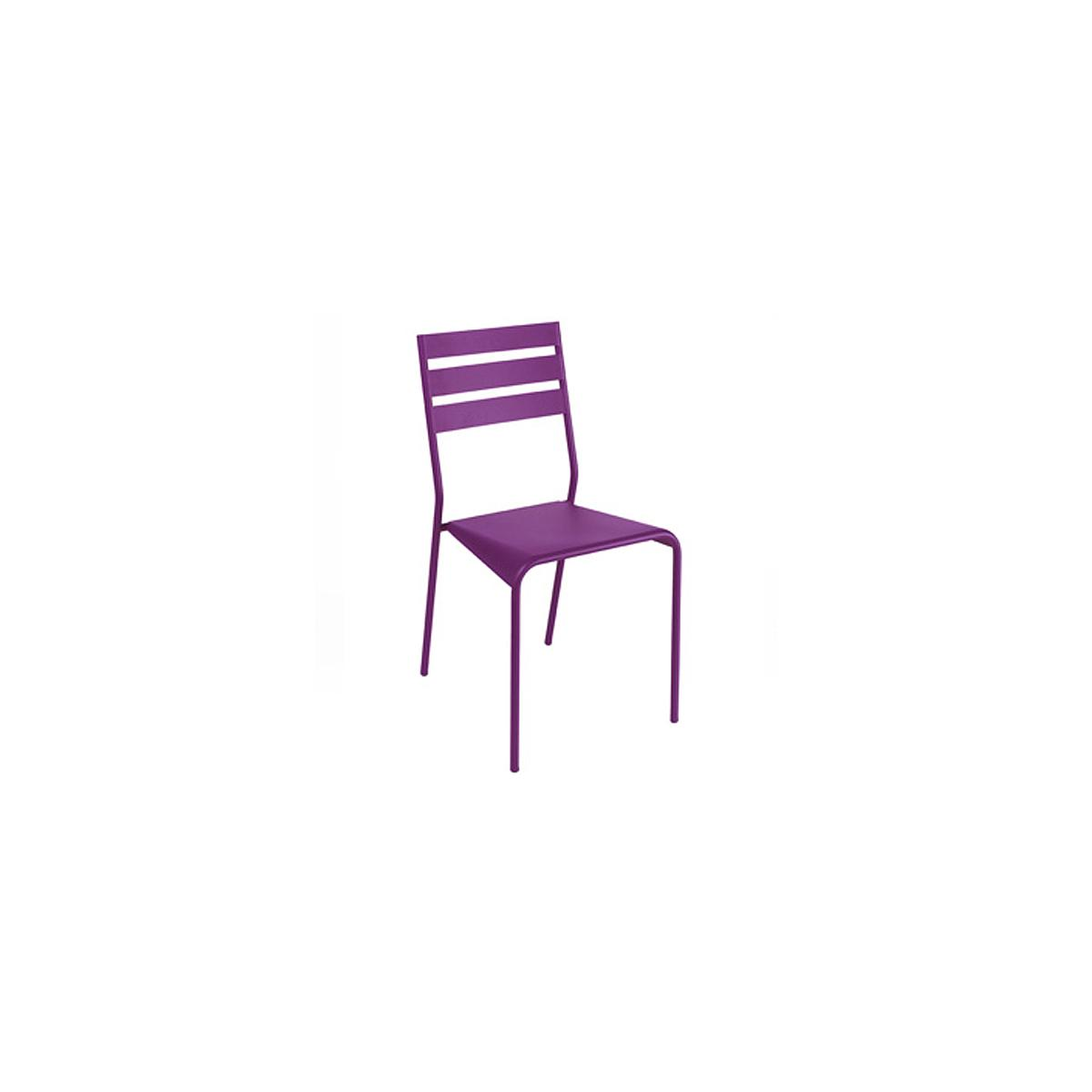 FACTO by Fermob Chaise Aubergine