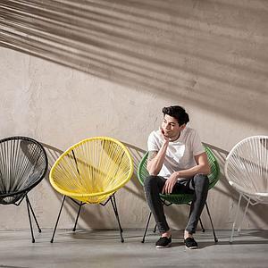 Fauteuil ACAPULCO Kare Design vert