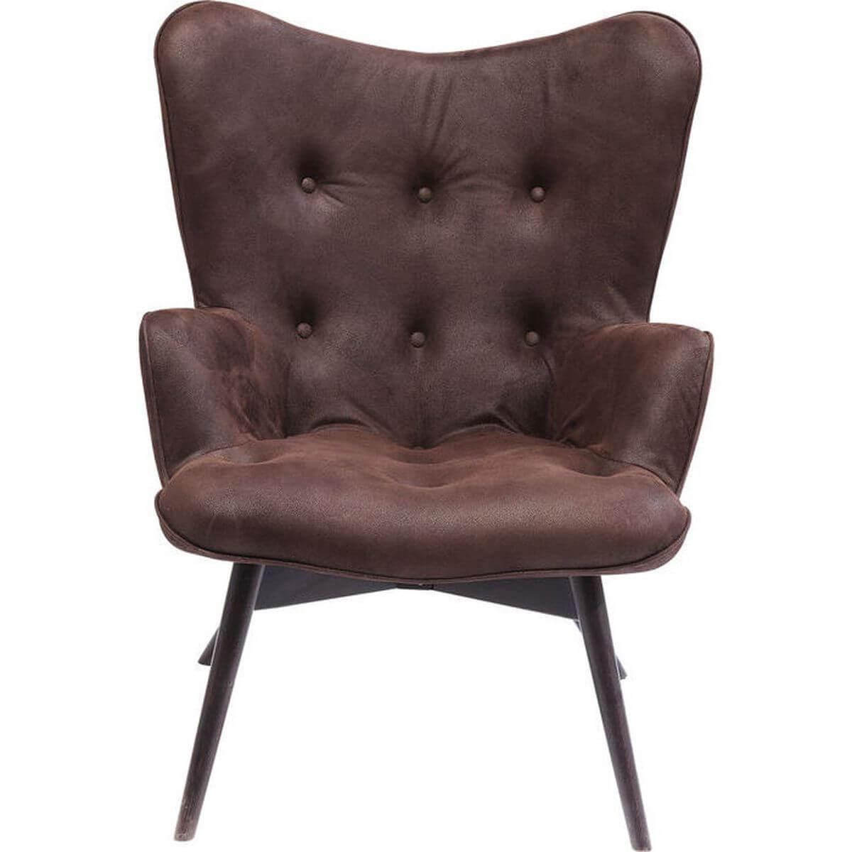 ANGELS WINGS ECO by Kare Fauteuil brun foncé