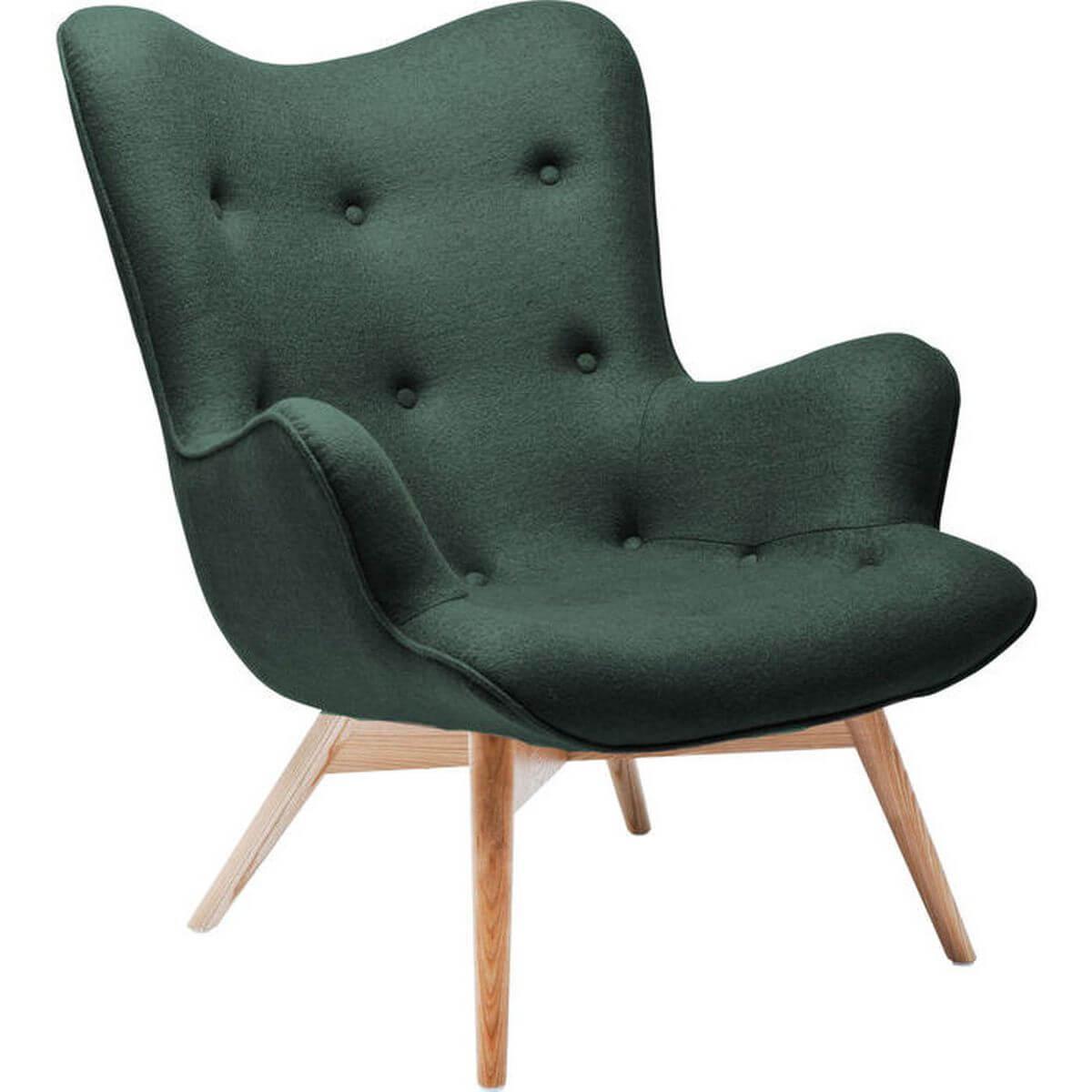 Fauteuil ANGELS WINGS Kare Design vert